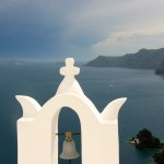 Praying for a safe voyage at Sea:  The Greek Isles and its churches