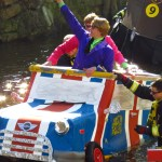 """Wild on the Water"" Carnival Raft Race in Schramberg, Germany"