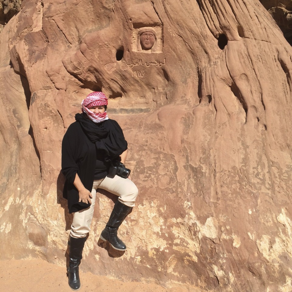 The Top Things To Do In Jordan, Lawrence of Arabia Pose