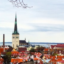 Tallinn Estonia Vibrant Capital Shores Of