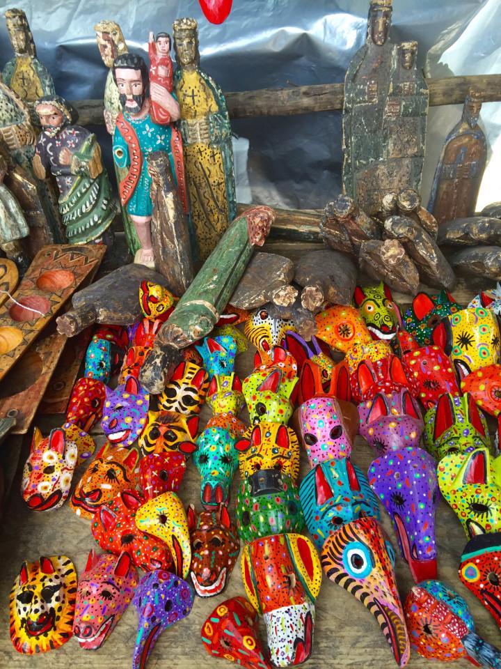 Cultural Tourism Mask Museum Chichicastenago, Guatemala