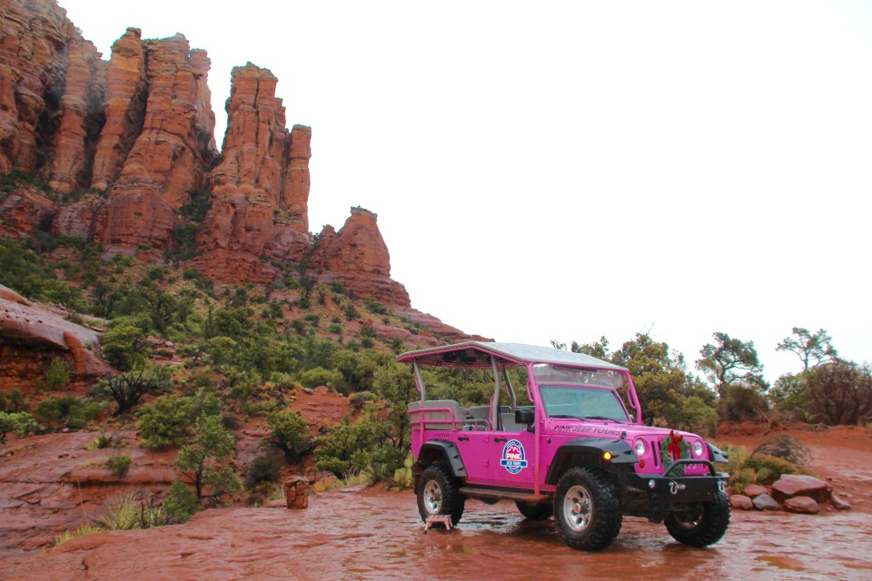 Cathedral Rock, Sedona, Arizona, Pink Jeep Tour