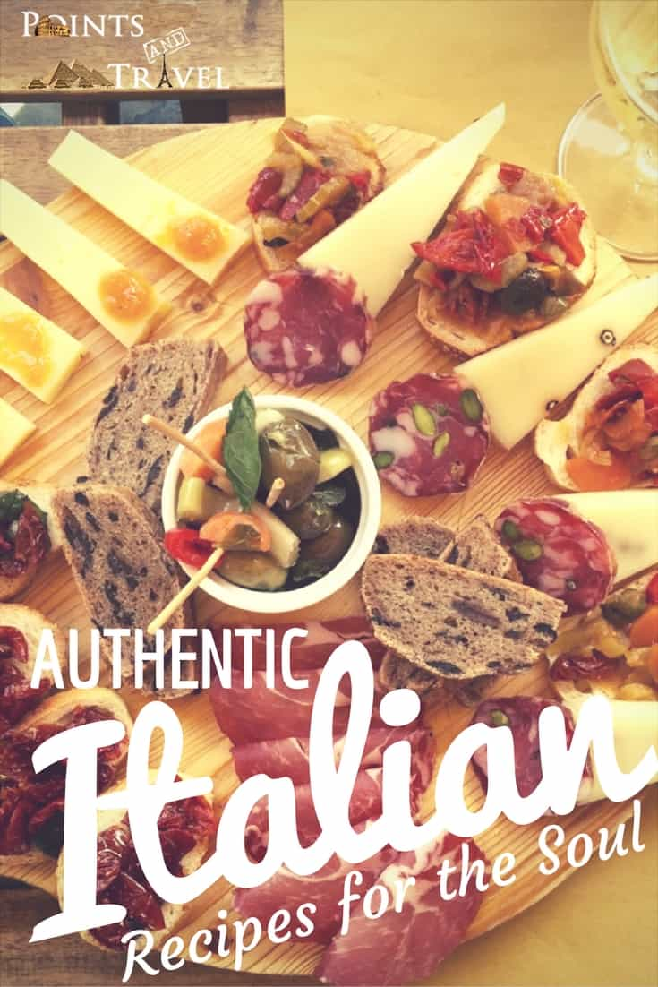 Come along with me as I explore authentic Italian recipes.