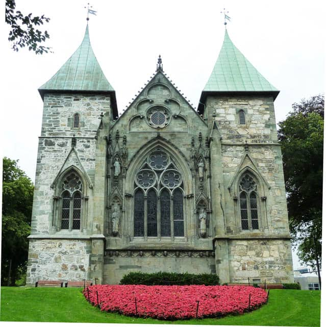 Stavanger Cathedral, Norway, Things to do in Norway, Norway winter