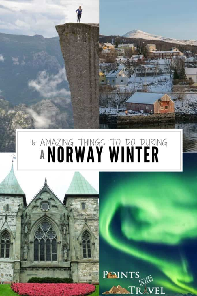 Things to do during a Norway Winter