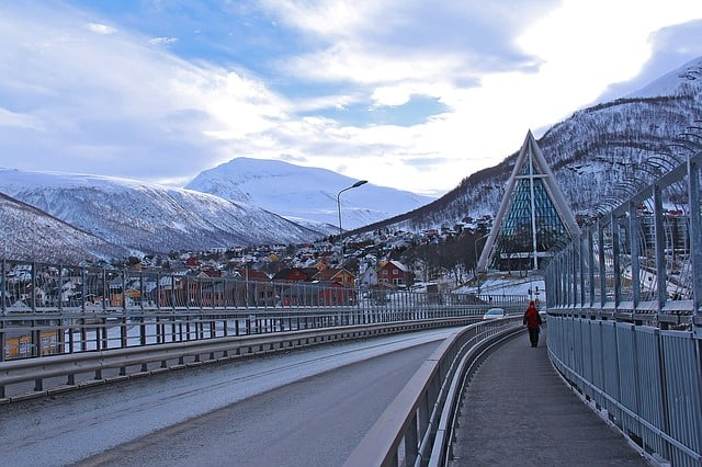 Arctic Cathedral in Tromso, Norway, Things to do in Norway, Norway winter