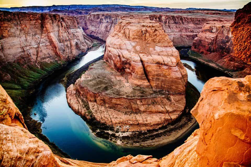horseshoe bend hike, horseshoe bend grand canyon, horseshoe grand canyon, horseshoe bend Arizona, horseshoe bend, Horseshoe bend camping