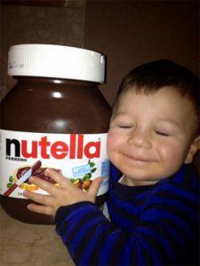 nutella enfant émotion