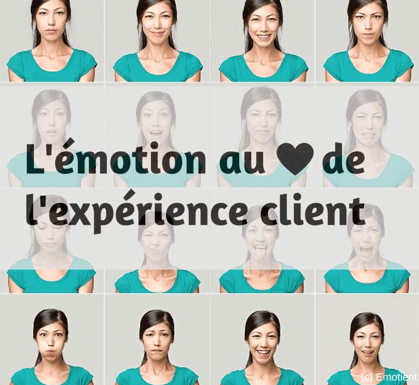 Emotion coeur expérience client