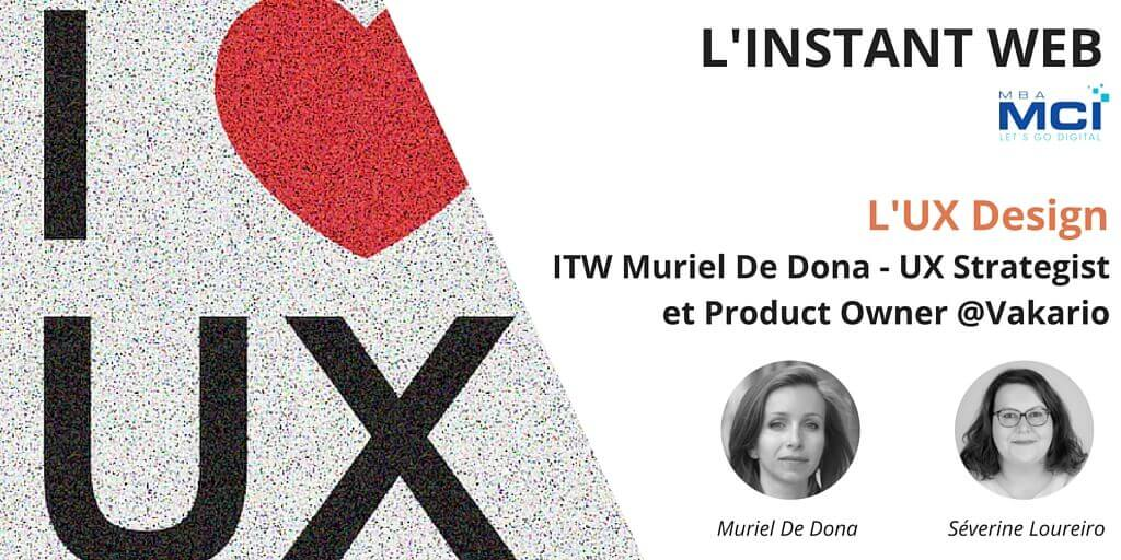 Design appliqué ITW Muriel De Dona