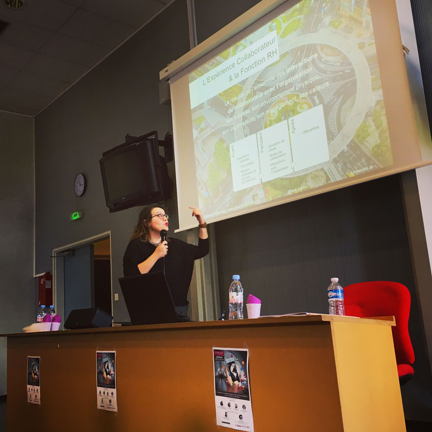 Conference IAE Valenciennes - Speaker Expérience Collaborateur