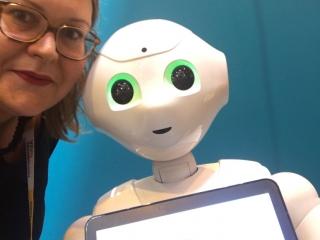 Viva Tech - juin 2017 - Selfie Pepper