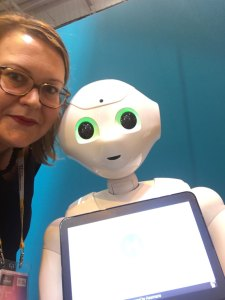 Viva Tech - juin 2017 - Selfie Pepper
