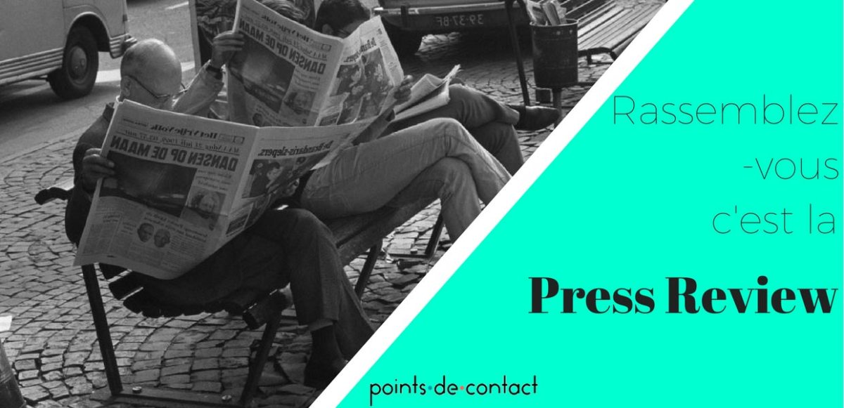 Revue de presse - 15/01/2018