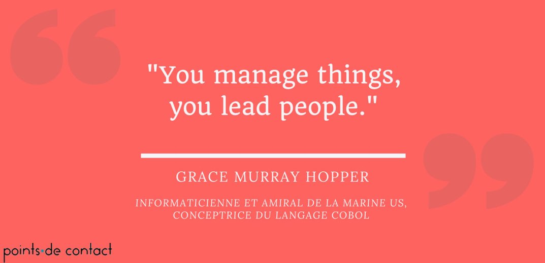 Citation Novembre 2017 Grace Murray Hopper Points De Contact