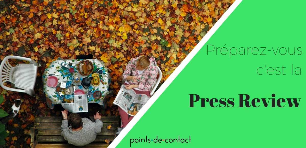 Revue de presse - 30/10/2017