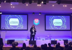 Hub day Future of work - speaker Severine Loureiro - Experience Collaborateur - novembre 2018