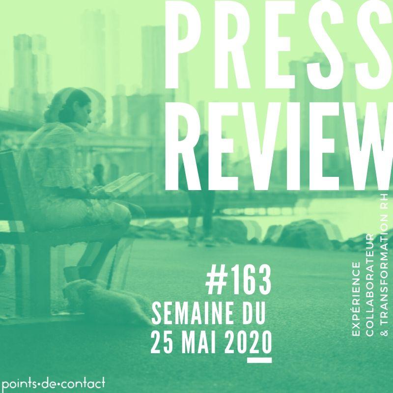Press Review #163 Experience Collaborateur Severine Loureiro Points de contact