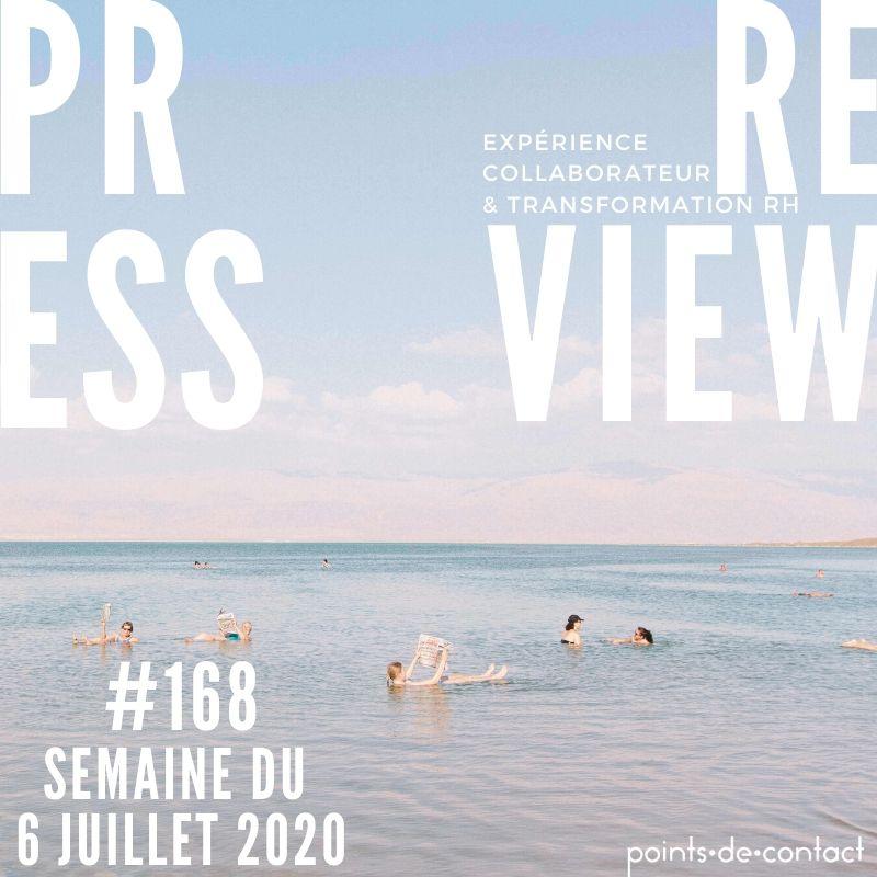 Press Review #168 Experience Collaborateur Severine Loureiro