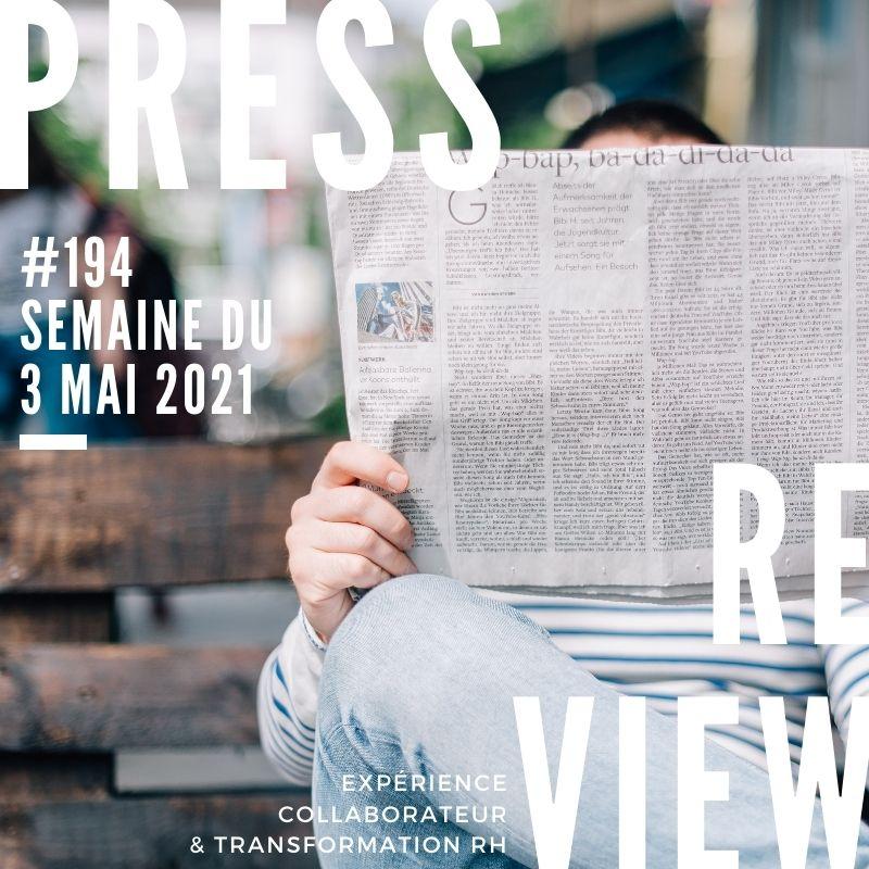 Press Review Experience Collaborateur #194 Severine Loureiro