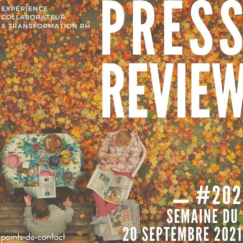 Press Review #202 Experience Collaborateur Severine Loureiro