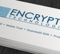 Encryptid Technologies logo & cards