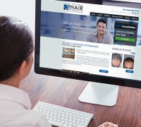 Hair Transplant Website