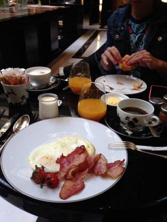 hyatt paris madeleine breakfast