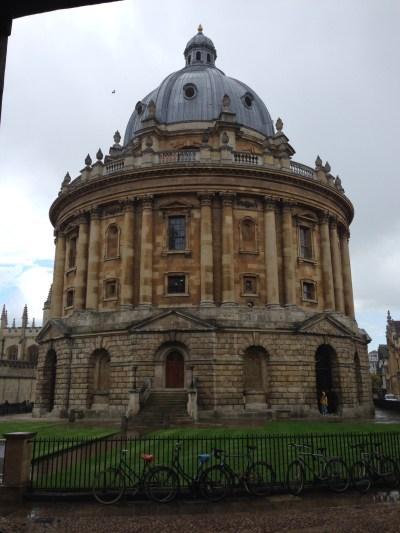 Sheldonian Theatre at Oxford University