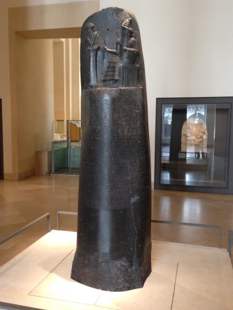 Code of Hammurabi louvre paris