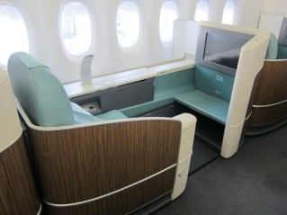 The seat we almost got for our flight back from ICN. Had to settle for Singapore!