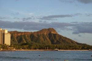 hawaii oahu honolulu dimaond head