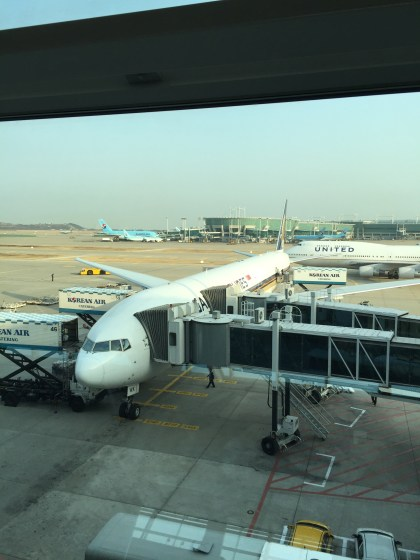 ICN Singapore Airlines First Class