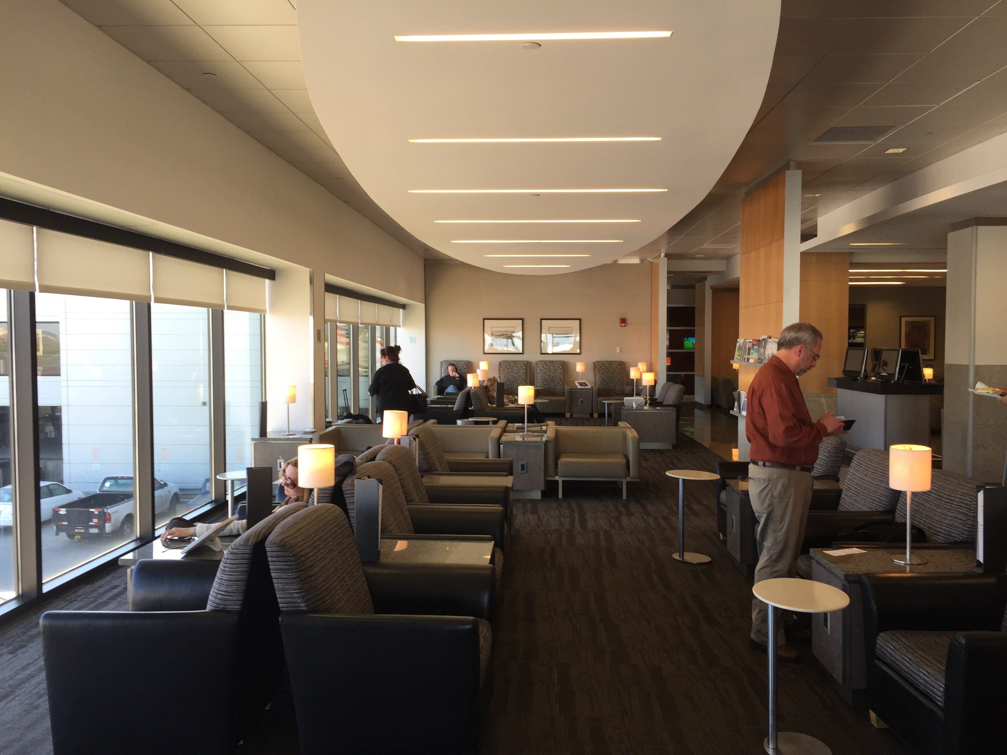 Lounge Review American Airlines Admirals Club Boston