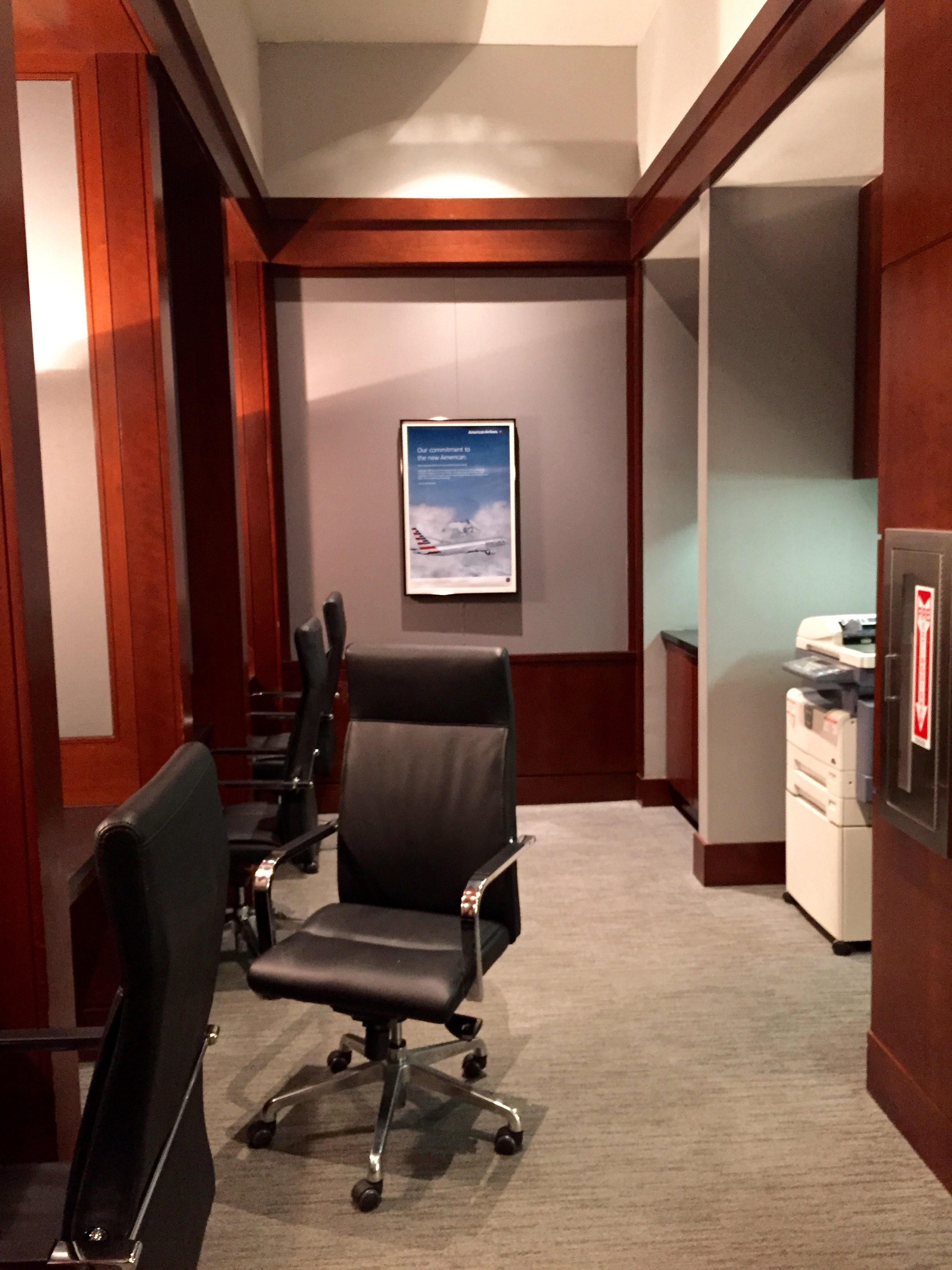 Lounge Review American Airlines Admirals Club Charlotte