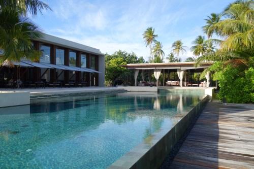 hotel review park hyatt maldives male beach resort luxury island overwater villa pool breakfast