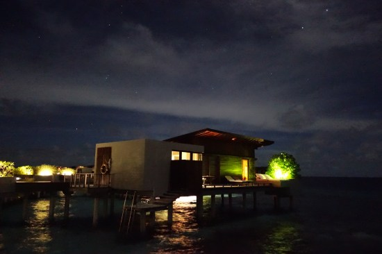 park hyatt maldives review hotel over water park villa bungalow private diamond snorkeling reef night