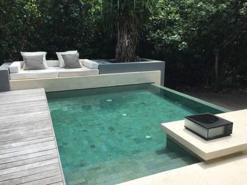 sunset hotel review park hyatt maldives male beach resort luxury island overwater villa pool breakfast