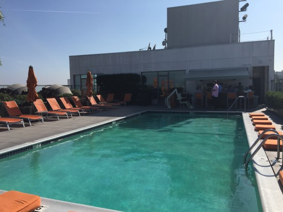 hotel review hyatt andaz west hollywood los angeles sunset suite riot house pool bar