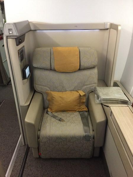 Asiana First Class ICN-JFK