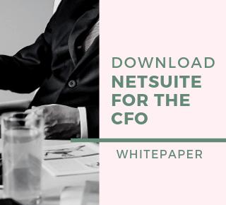 NetSuite for CFO
