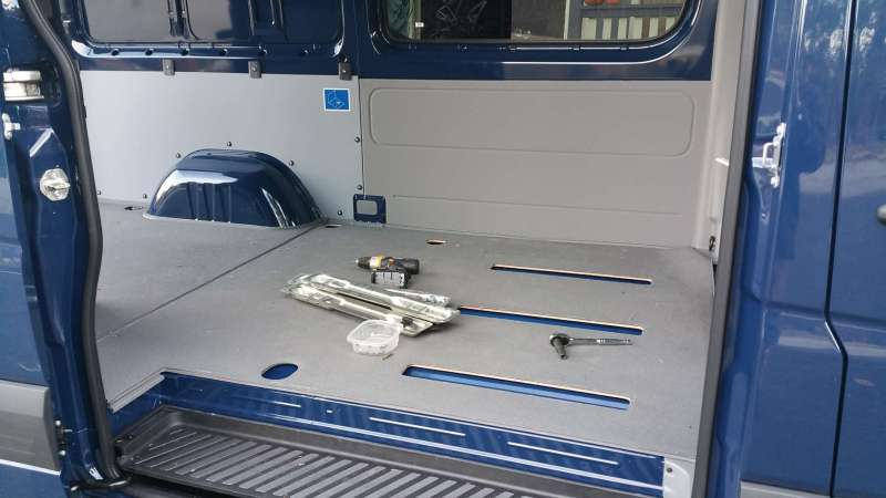 Points Unknown - Sprinter Van back seat second position