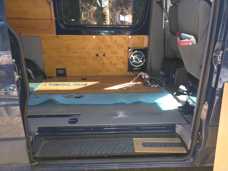 Converting A Sprinter Van To A Camper Installing