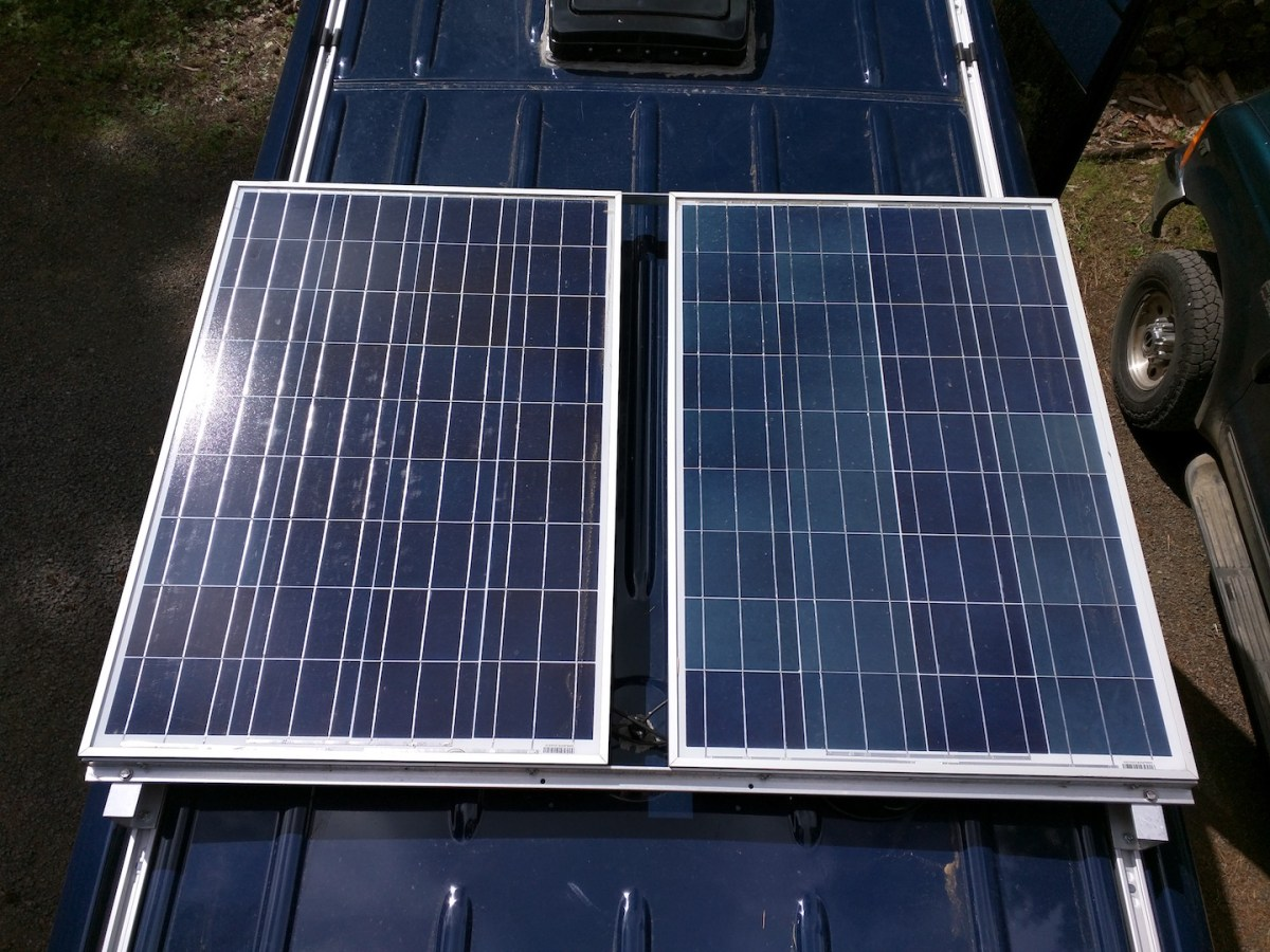 Sprinter Adventure Van Build – Solar Charging
