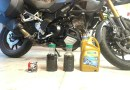Suzuki Vstrom Oil Change | Points Unknown