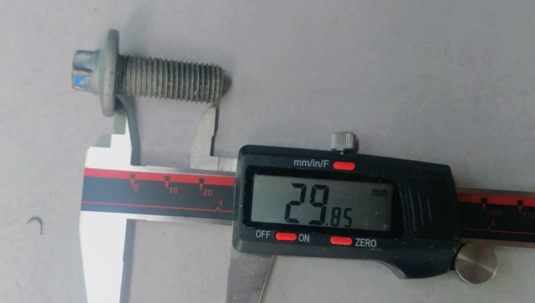 bolt length