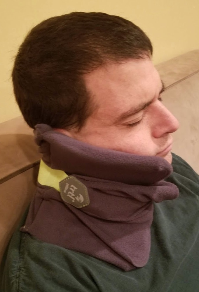 trtl pillow plus review travel pillow