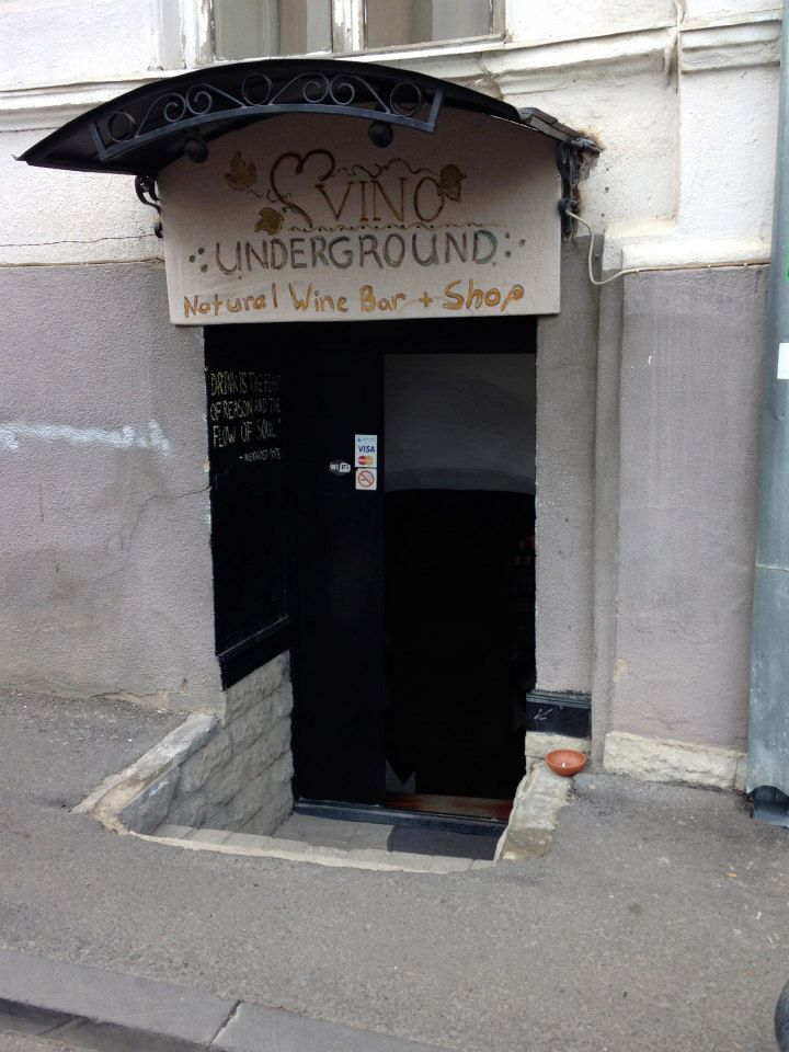 Vino Underground is a tremendous place to learn about Georgian wines.