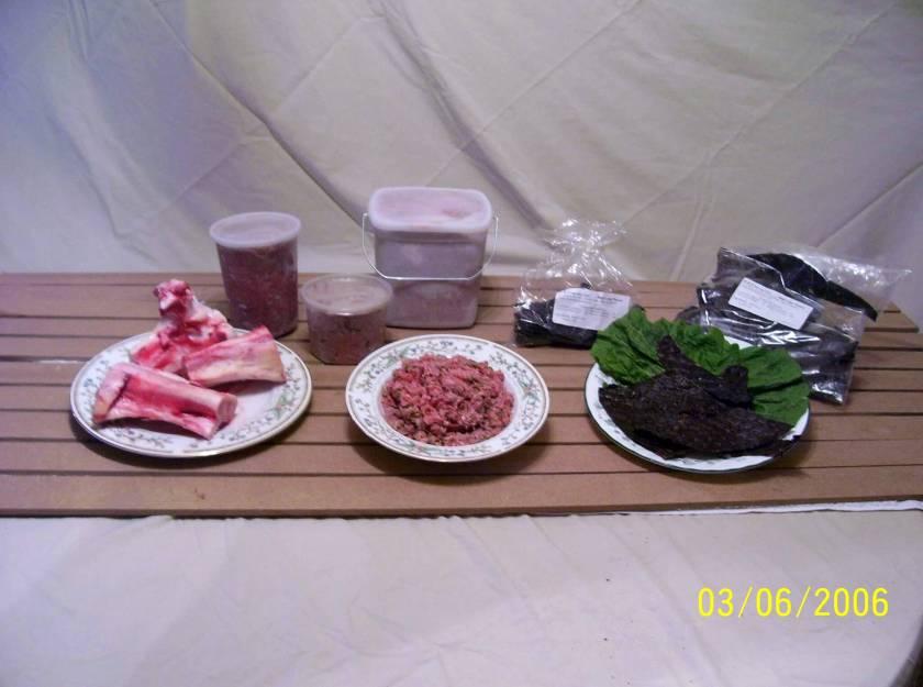 G&C raw pet food line