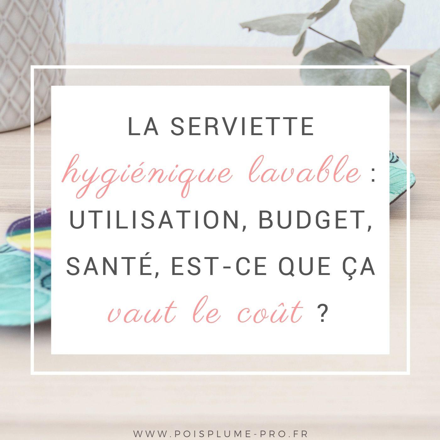 serviette hygiénique lavable ça vaut le coût zero dechet pas cher (4)